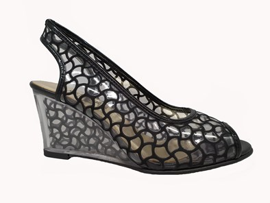 Azuree 'Manu' Wedge In Black