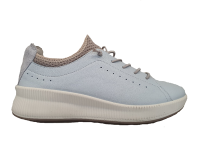 Legero Blue Leather Trainer