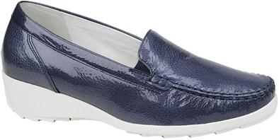 Waldlaufer Blue Patent Loafer