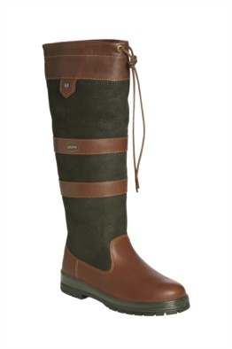 Dubarry Galway Boot In Black & Brown