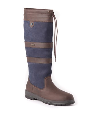 Dubarry Galway Boot In Navy & Brown