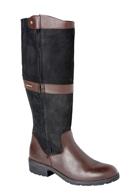 Dubarry Sligo Boot In Black & Brown