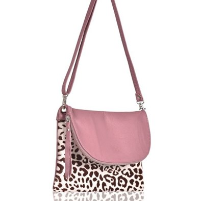 Owen Barry Gorgie In Dusty Pink With Print