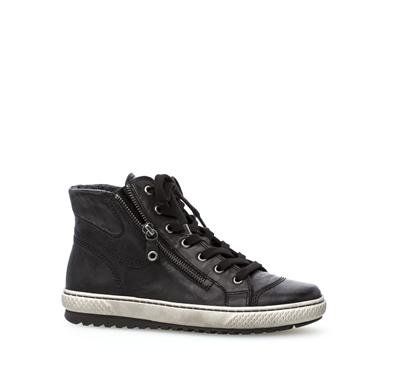 'Bulner' Gabor High Top Black Boot