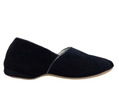 Drapers Anton Suede Full Slipper In Navy