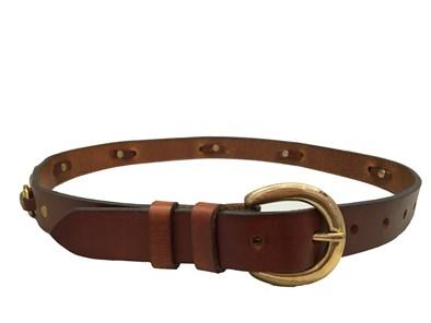 Hicks & Hide Miniature Bit Belt In Cognac
