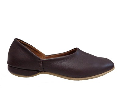 Drapers Charles Leather Slipper In Wine