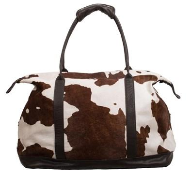 Owen Barry Cow Hide Weekend Holdall