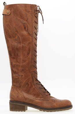 Gabor 'Dion' Copper Brown Long Boot