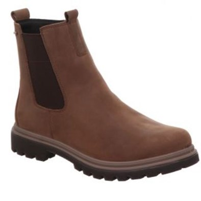 Monta Brown Leather Chelsea Boot with Gortex lining