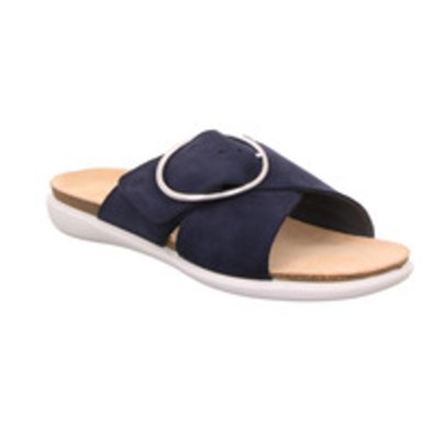 Legero 'Float' Navy Suede Sandal