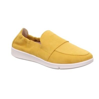 Legero 'Lucca' Slip On In 'Sunshine' yellow