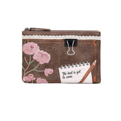 Vendula Scrapbook Stationery Zip Coin Purse