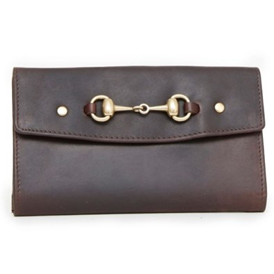 Hicks & Hide Hidcote Bit Purse Brown
