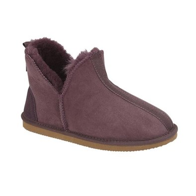 Drapers Tilly Sheepskin Slipper Mullberry