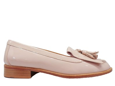 HB Nude Patent Loafer