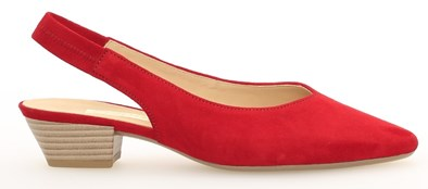 Gabor 'Heathcliff' Ruby Red Sling Back
