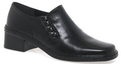 Gabor 'Hertha' Black Trouser Shoe