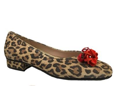 HB 'Jest' In Leopard Print & Red
