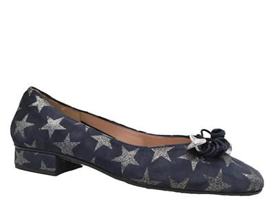 HB Blue Suede Star Jest Pump