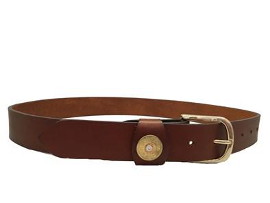 Hicks & Hide Moreton Keeper Belt In Cognac