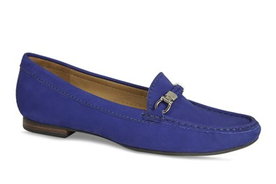 "Lisa Kay ""Bunny"" Loafer In Royal Blue"