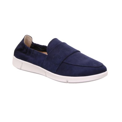 Legero 'Lucca' Navy Blue Slip On
