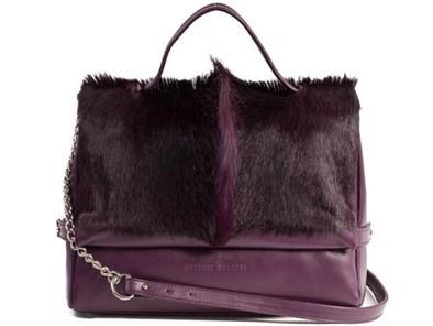 Sherene Melinda Plum Fan Tote Bag