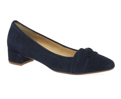 Gabor 'Prince' Navy Low Court Shoe