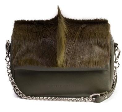 Sherene Melinda Fan Bag In Green