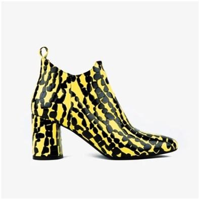 Embassy London 'Jirren' Yellow & Black Boot