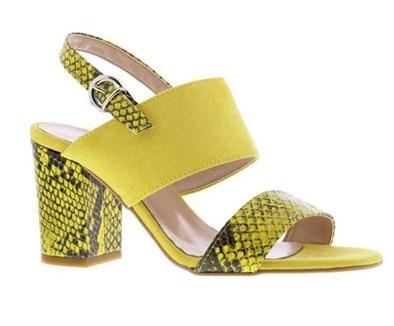 Capollini 'Wren' Sandal in Saffron