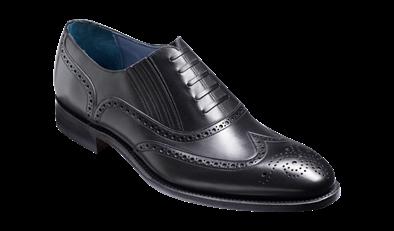 Barker Timothy Black Calf Leather Brogue