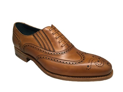 Barker Timothy Cedar Calf Leather Brogue