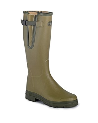 Le Chameau Vierzon Gents Welly In Green