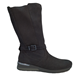 Waldlaufer 'Clara' Mid Calf Boot In Black