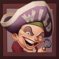 Hook's Heroes Slot Machine: simbolo Wild