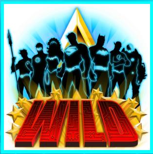 Justice League Slot Machine: simbolo Wild