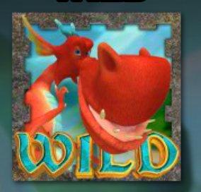 A Dragon's Story Slot Machine: simbolo Wild