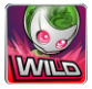 simbolo wild alien robots slot