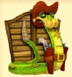 Il simbolo Wild della slot machine Armadillo Artie