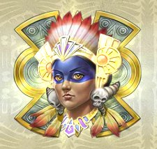 Aztec Princess Slot Machine: simbolo Wild