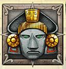 Il simbolo Wild della Aztec Idols Slot Machine