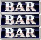 Il simbolo BAR della slot machine Bars and Bells