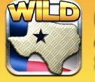 Black Gold Texas Riches Slot Machine: simbolo Wild