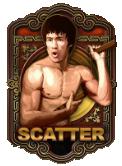 simbolo scatter della slot machine Bruce Lee