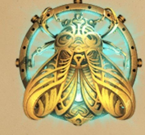 Coins of Egypt Slot Machine: simbolo Wild