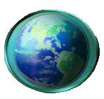 Cosmic Invaders - Simbolo Terra