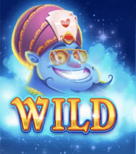 Crazy Genie Slot Machine: simbolo Wild