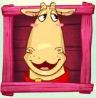 Il simbolo Bonus della slot machine Crazy Cows